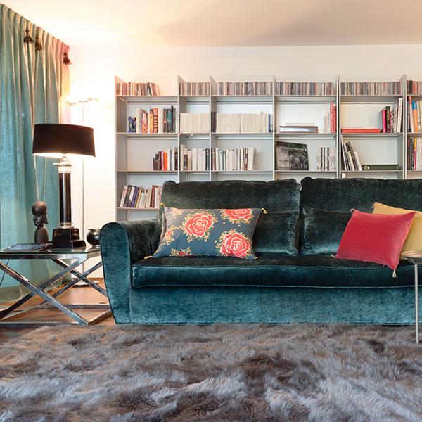 Individuelle Einrichtung und Sofas
